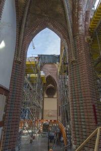 Herbouw St. Urbanuskerk Bovenkerk - zijgewelven