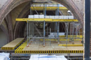 Herbouw St. Urbanuskerk Bovenkerk - ondersteuning gewelven