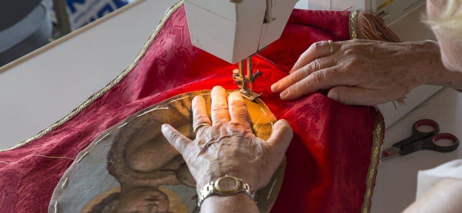 Herinrichting St. Urbanuskerk Bovenkerk - herstel vaandels