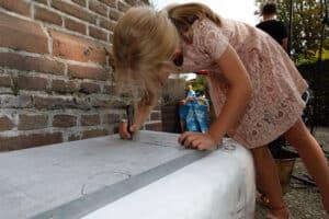St. Urbanuskerk Bovenkerk - eerste steenlegging