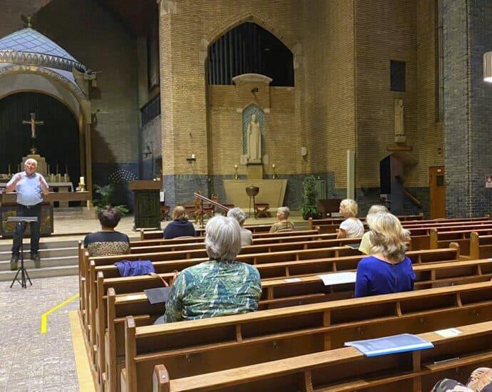 Repetitie Pauluskoor in Augustinus kerk