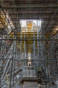 Herstel St. Urbanuskerk Bovenkerk - metselen eerste gewelf